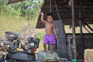 Lac Tonle Sap - Village flottant