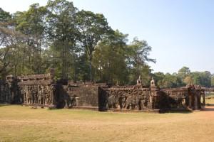 1363 - 10 02 2014 - CBD - Cité d'Angkor Thom - Terrasse des éléphants