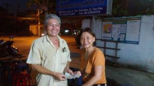 20-don pour les efnatns du Maitre Hung